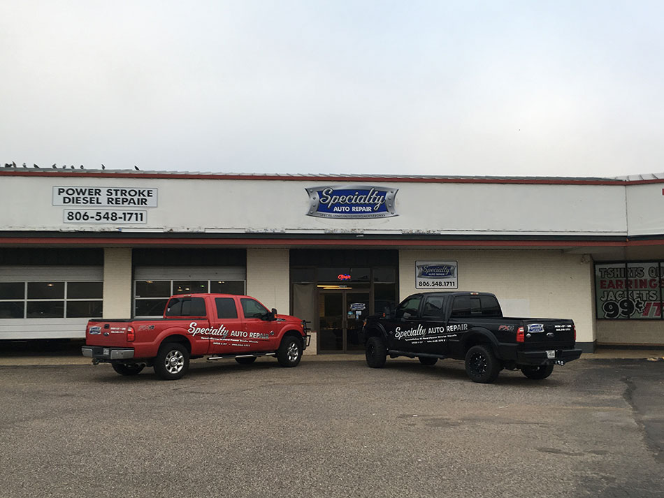 Dealerships In Lubbock Tx >> Specialty Auto Repair, Lubbock TX - About