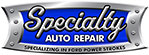 Specialty Auto Repair Lubbock Texas Mobile Logo